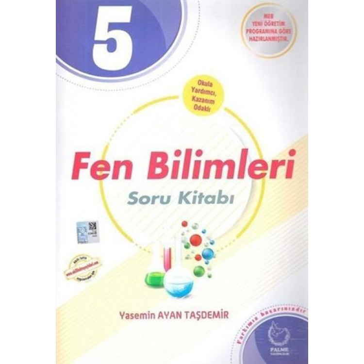 Palme Yayınları 5. Sınıf Fen Bilimleri Soru Kitabı