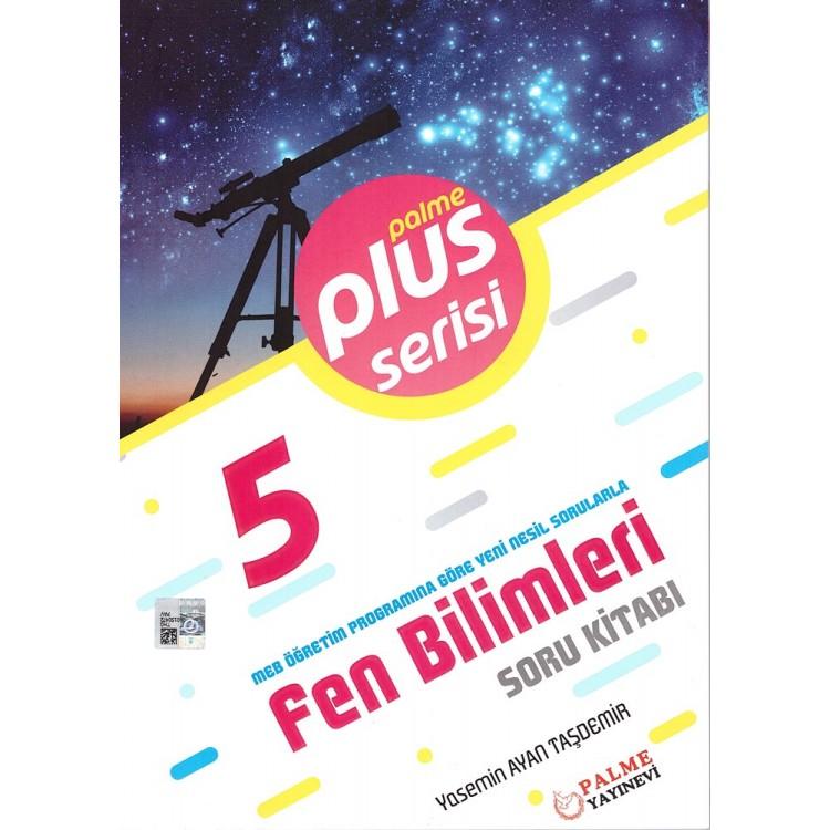 Palme Yayınları 5. Sınıf Plus Serisi Fen Bilimleri Soru Kitabı