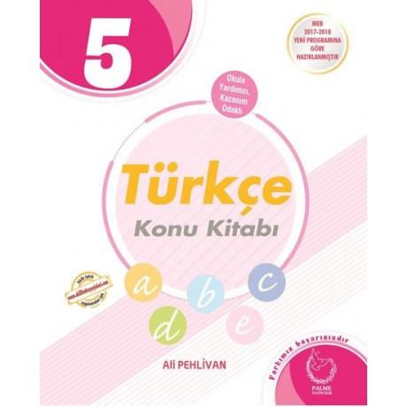 Palme Yayınları 5. Sınıf Türkçe Konu Kitabı