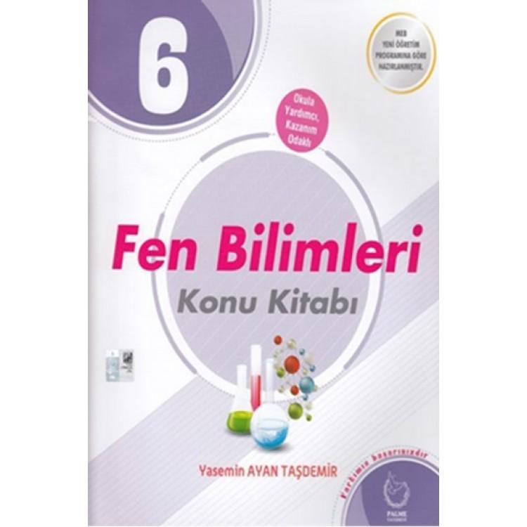 Palme Yayınları 6. Sınıf Fen Bilimleri Konu Kitabı