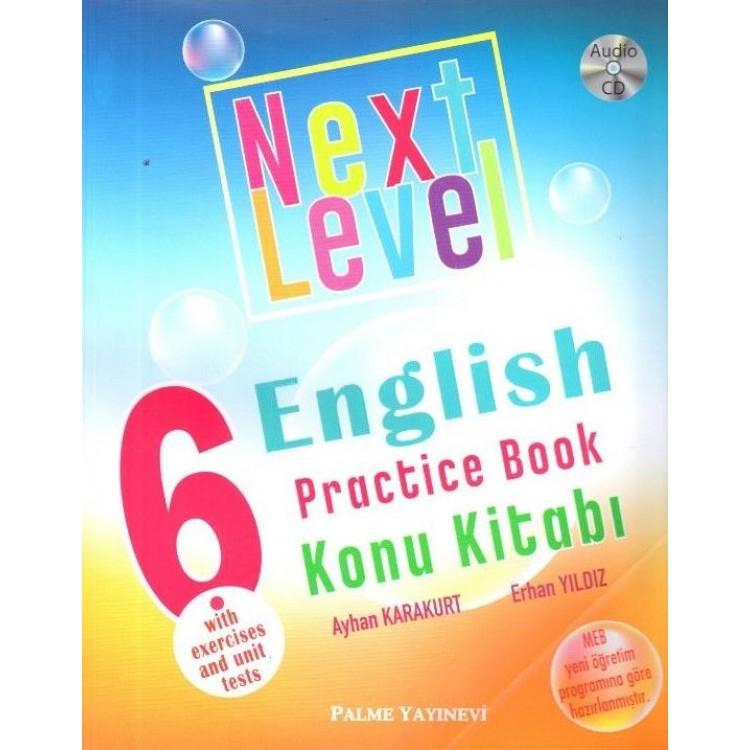 Palme Yayınları 6. Sınıf Next Level English Practice Book Konu Kitabı
