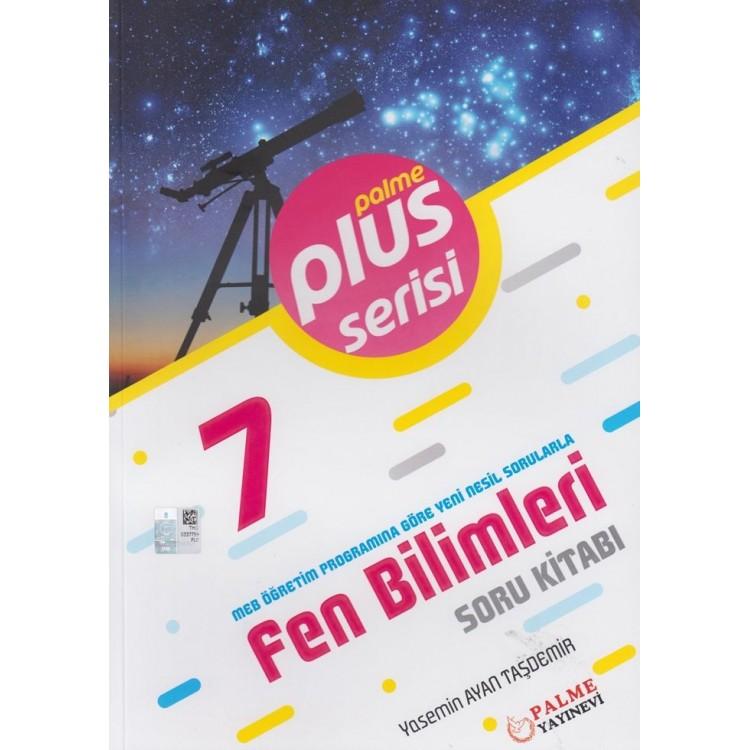 Palme Yayınları 7. Sınıf Fen Bilimleri Plus Serisi Soru Kitabı