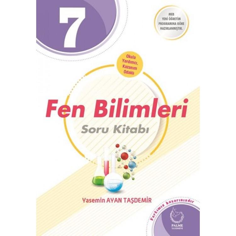 Palme Yayınları 7. Sınıf Fen Bilimleri Soru Kitabı