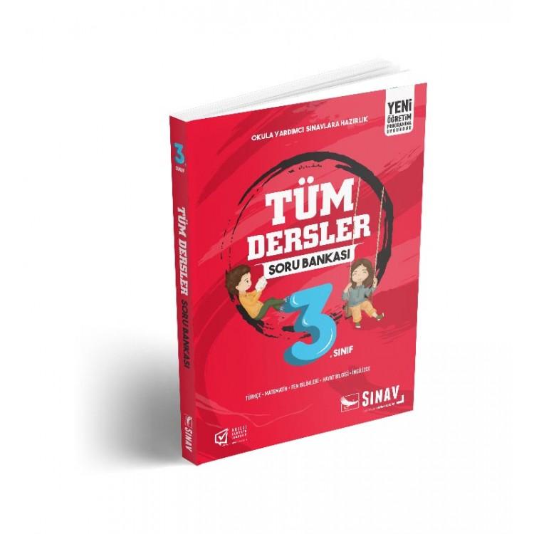 Sınav Yayınları 3. Sınıf Tüm Dersler Soru Bankası