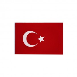 Buket Türk Bayrağı Polyester Kumaş 30x45 cm