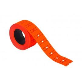 Kraf Motex Fiyat Etiketi Rulo 12x21mm Fosforlu Kırmızı